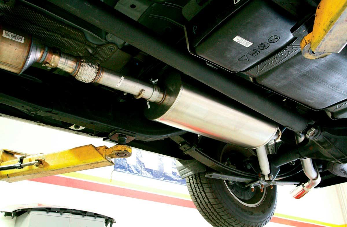 катализатор на пламегаситель Chevrolet