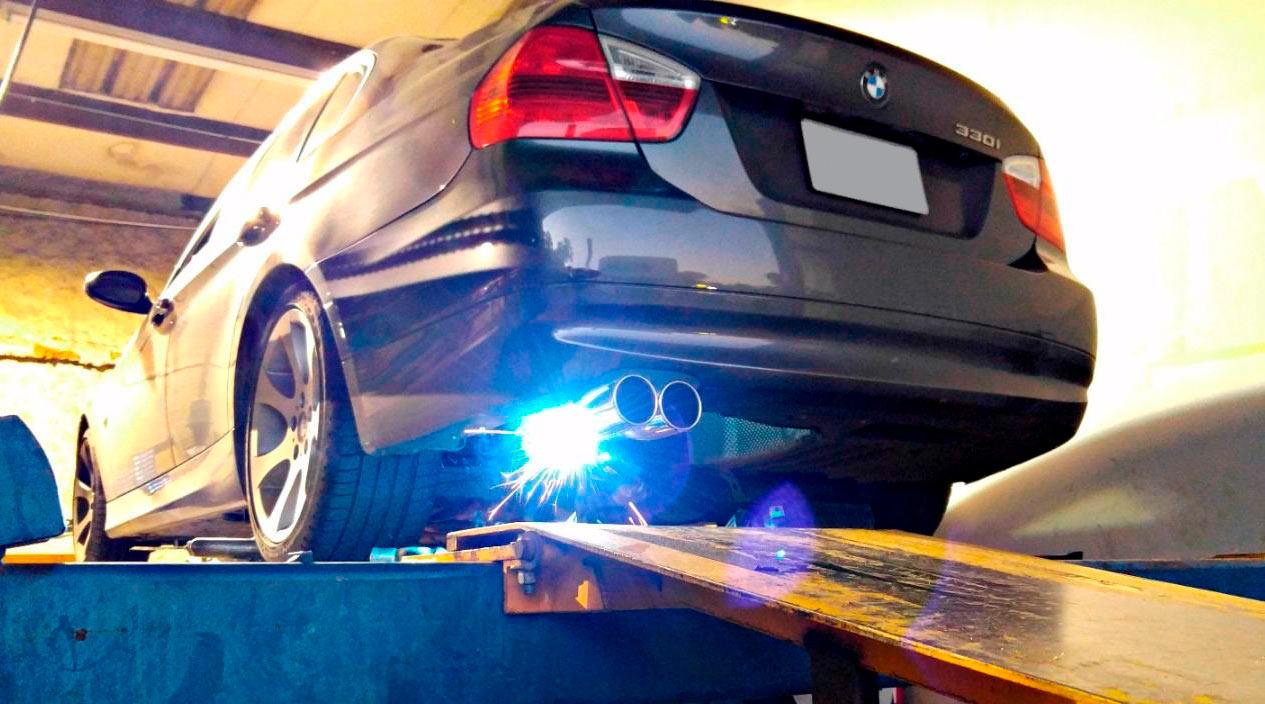 ремонт глушителей BMW (БМВ)