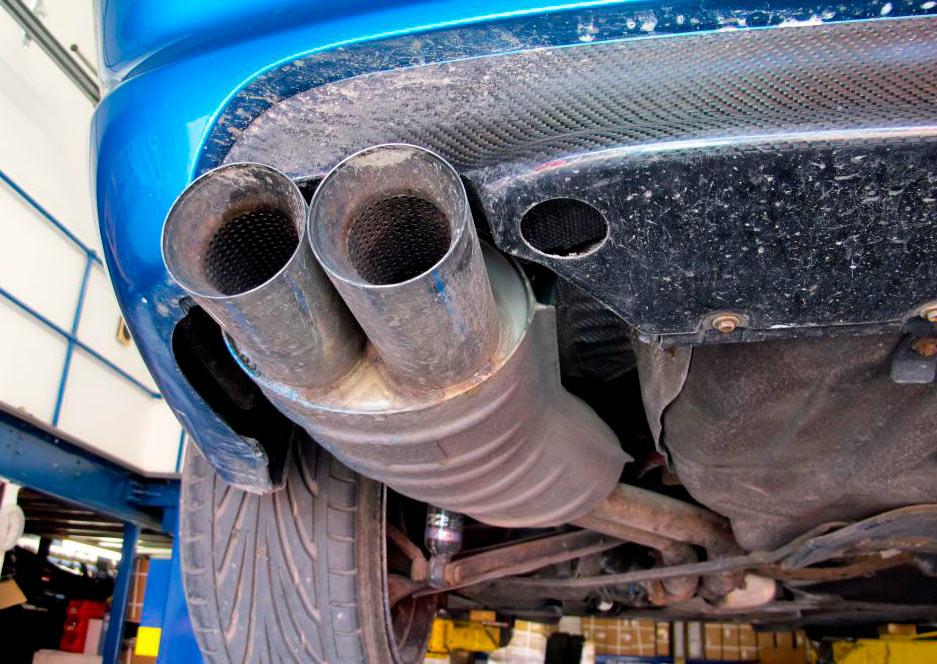 Замена катализаторов и пламегасителей BMW (БМВ)