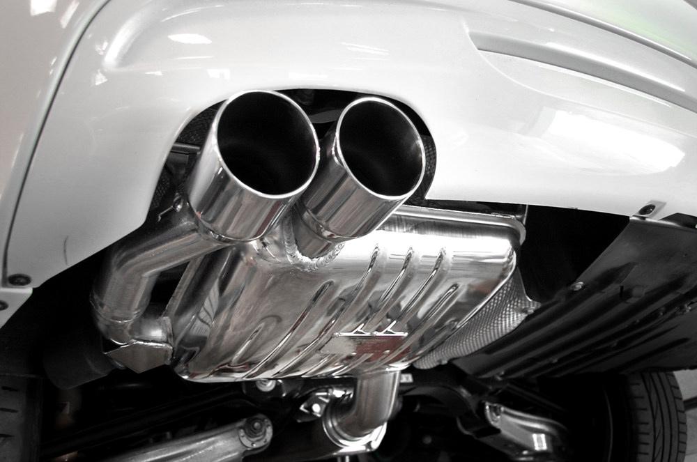 ремонт глушителя BMW 01