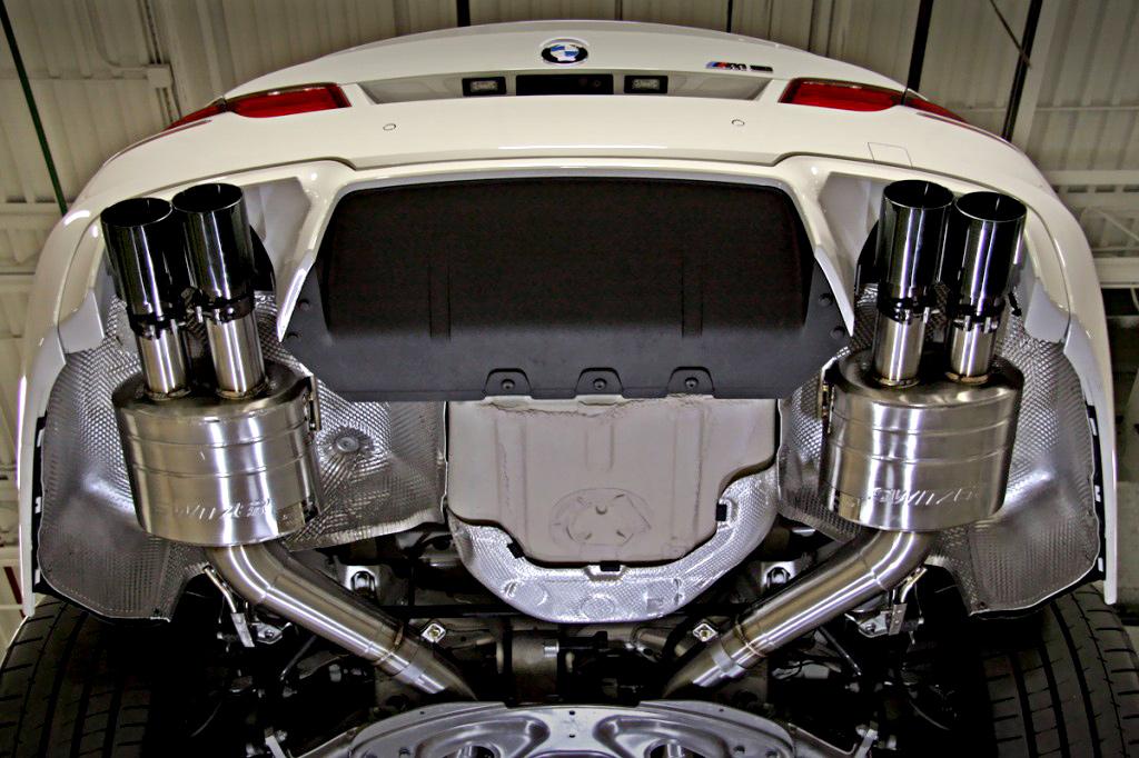 ремонт глушителя BMW 02