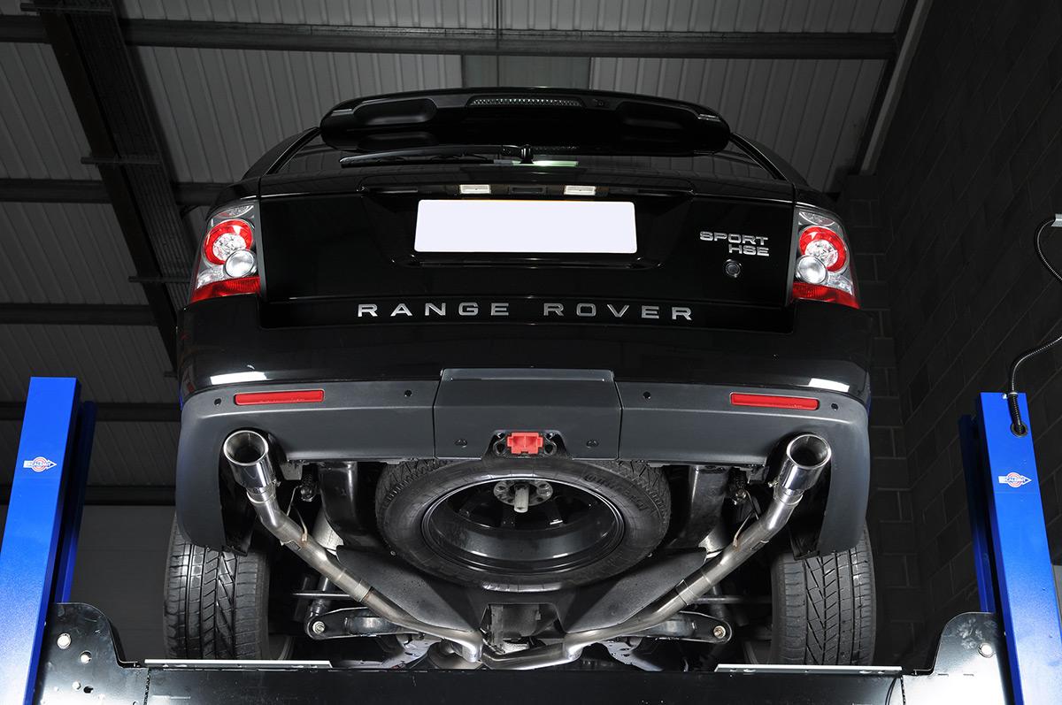 Ремонт глушителя Land Rover