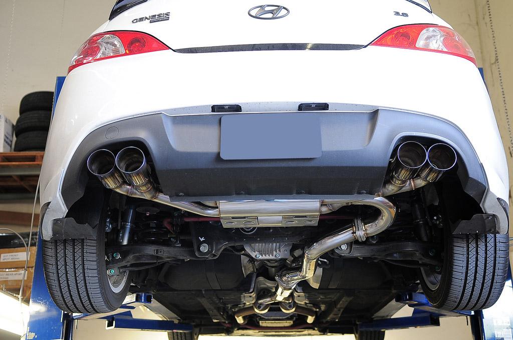 Ремонт глушителя Hyundai СПБ