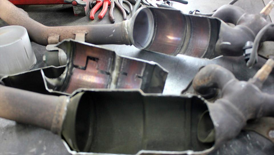 Сажевый фильтр на дизеле